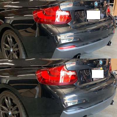 BMW 2-Series Coupe Rear Bumper Reflector Overlay