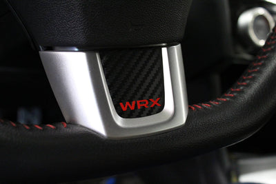Subaru WRX Steering Wheel Bottom Emblem Overlay