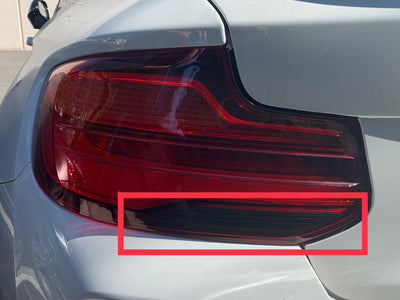 BMW 2-Series/M2 LCI Reverse Light Overlay