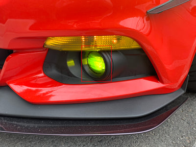 Ford Mustang Fog Light Overlay