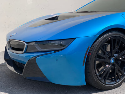 BMW i8 Front Reflector Overlay