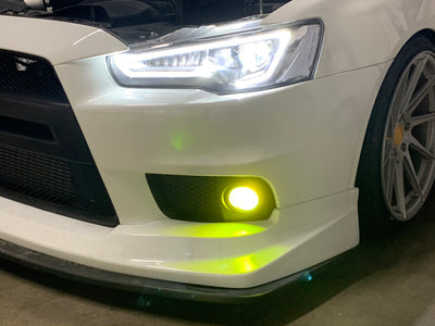 Mitsubishi Evolution 10 Fog Light Overlay