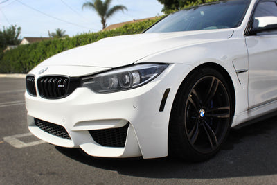 BMW F80 M3 Front Amber Delete Overlay