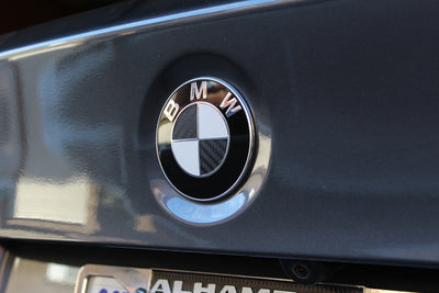 BMW Front and Rear Emblem Overlay