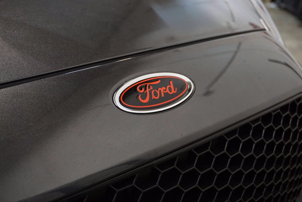 2015 2017 Ford Focus St Front And Rear Emblem Overlay Rawvinylworks