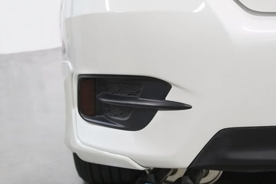 2016-2018 Honda Civic Sedan Smoked Bumper Reflector Light Overlays