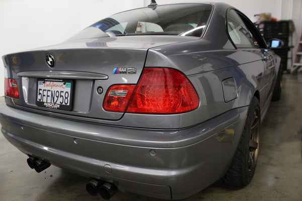 Bmw E46 M3 Rear Turn Signal Overlay Aeroflowdynamics Overlays