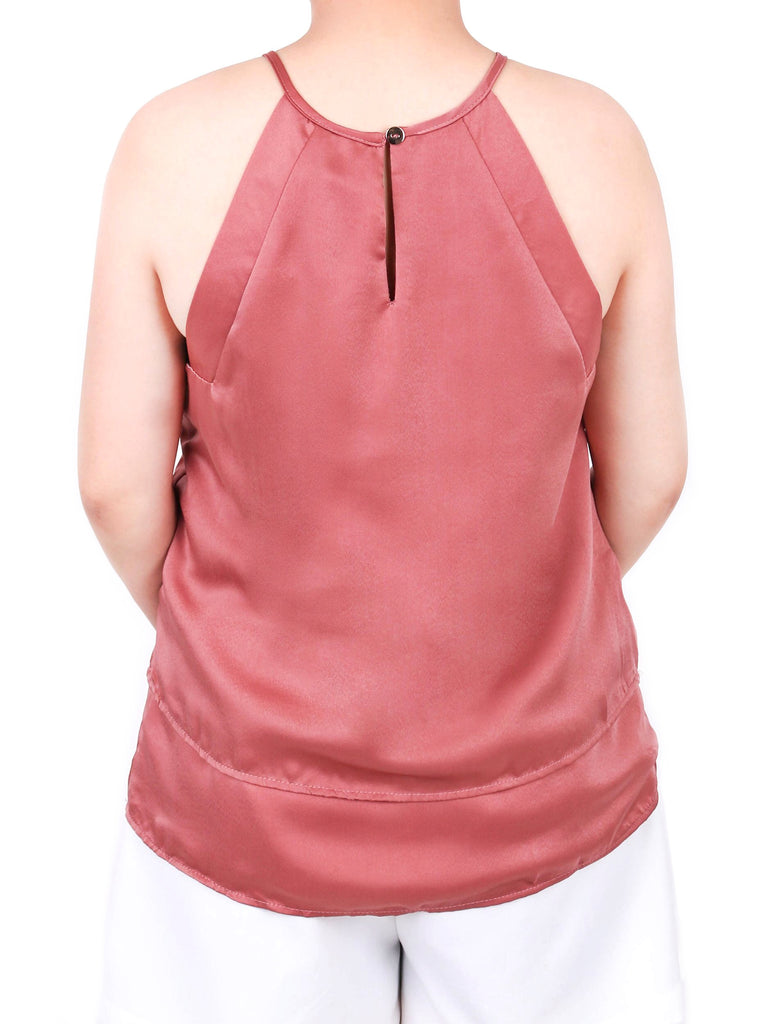 SATIN HALTER TOP (4722436997204)