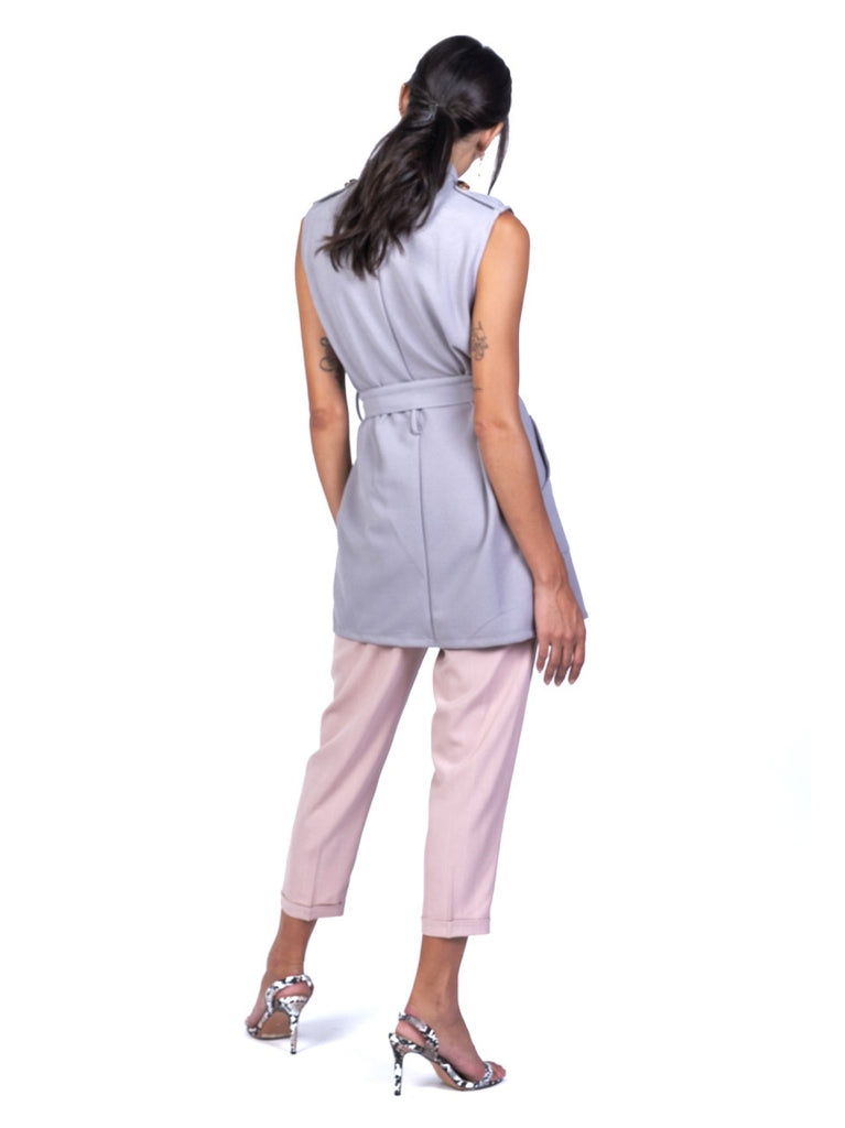 TAILORED LONG KNIT VEST (4723714621524)