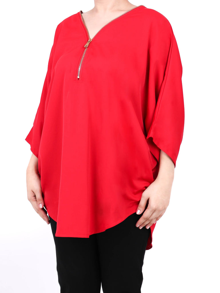 SATIN DOLMAN TOP (4722569117780)