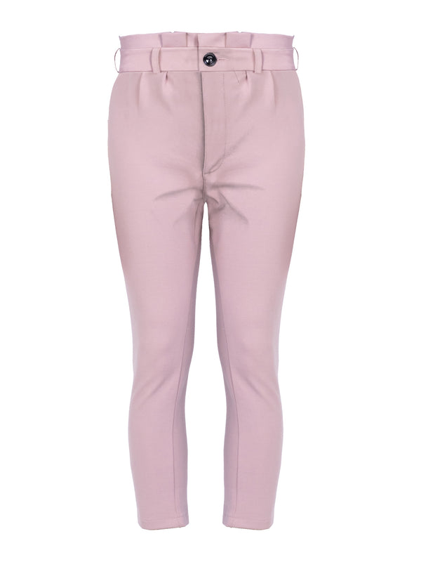 TAILORED KNIT TROUSERS