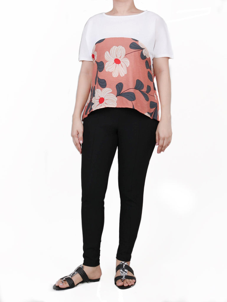 EVERYDAY EXTENDED-SLEEVE FLORAL TEE (4722443583572)