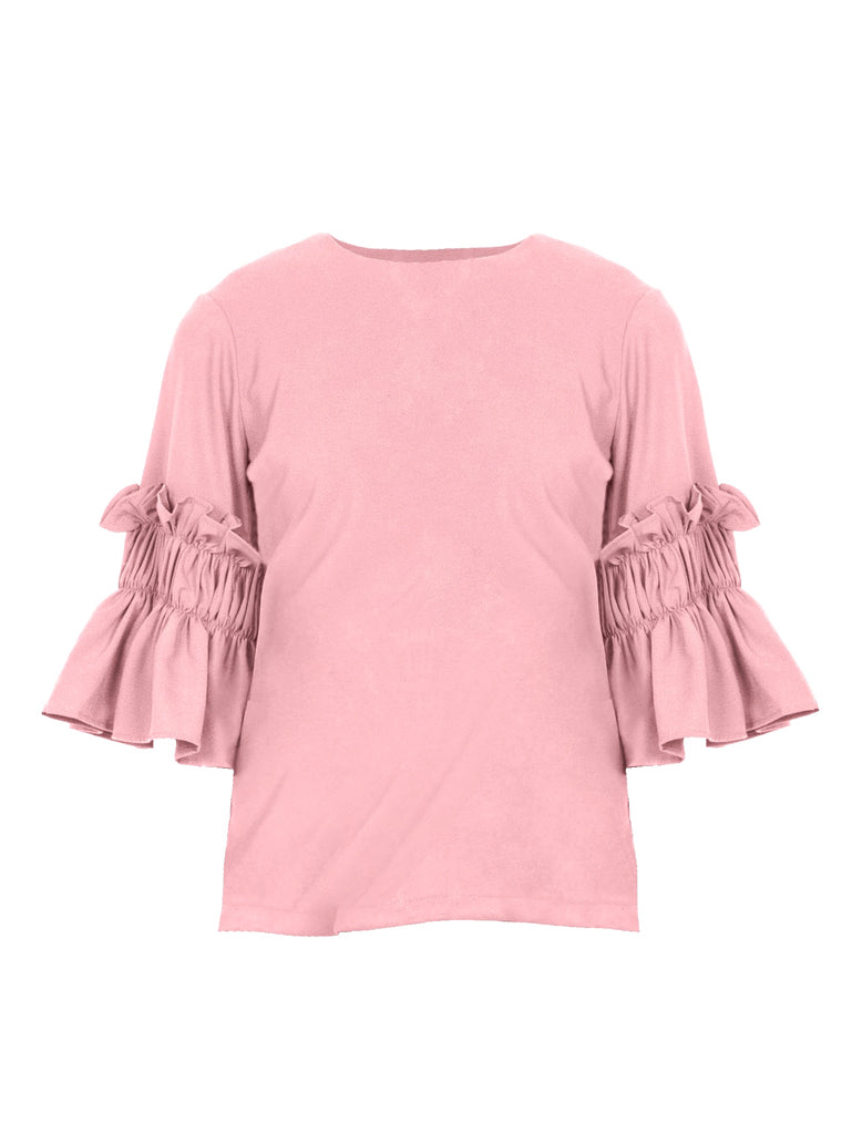 BELL SLEEVES BLOUSE (4683857035348)