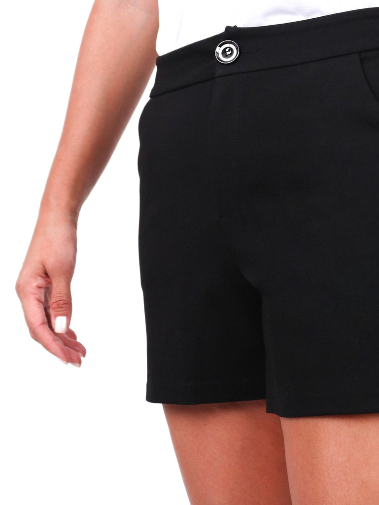 TAILORED KNIT SHORTS (4686601814100)