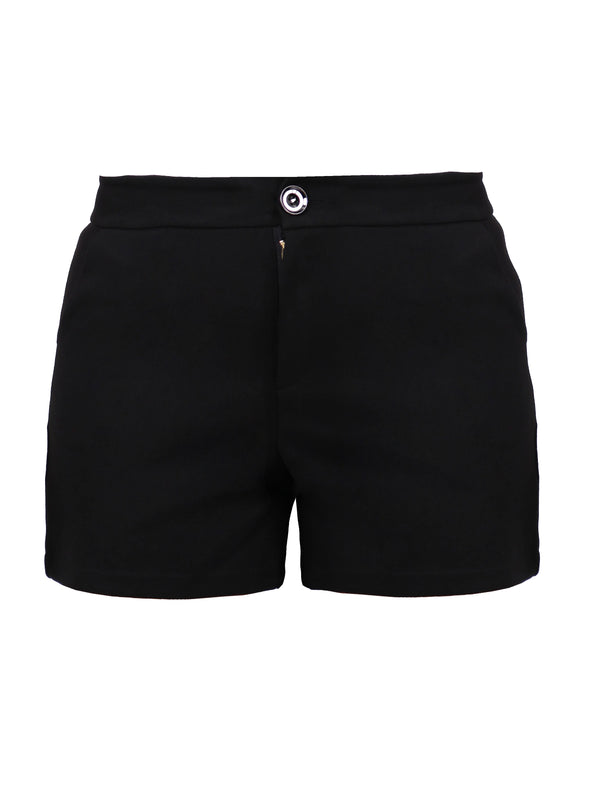 TAILORED KNIT SHORTS