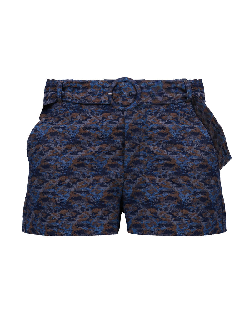 TAILORED SHORTS WITH BELT (4759901765716)