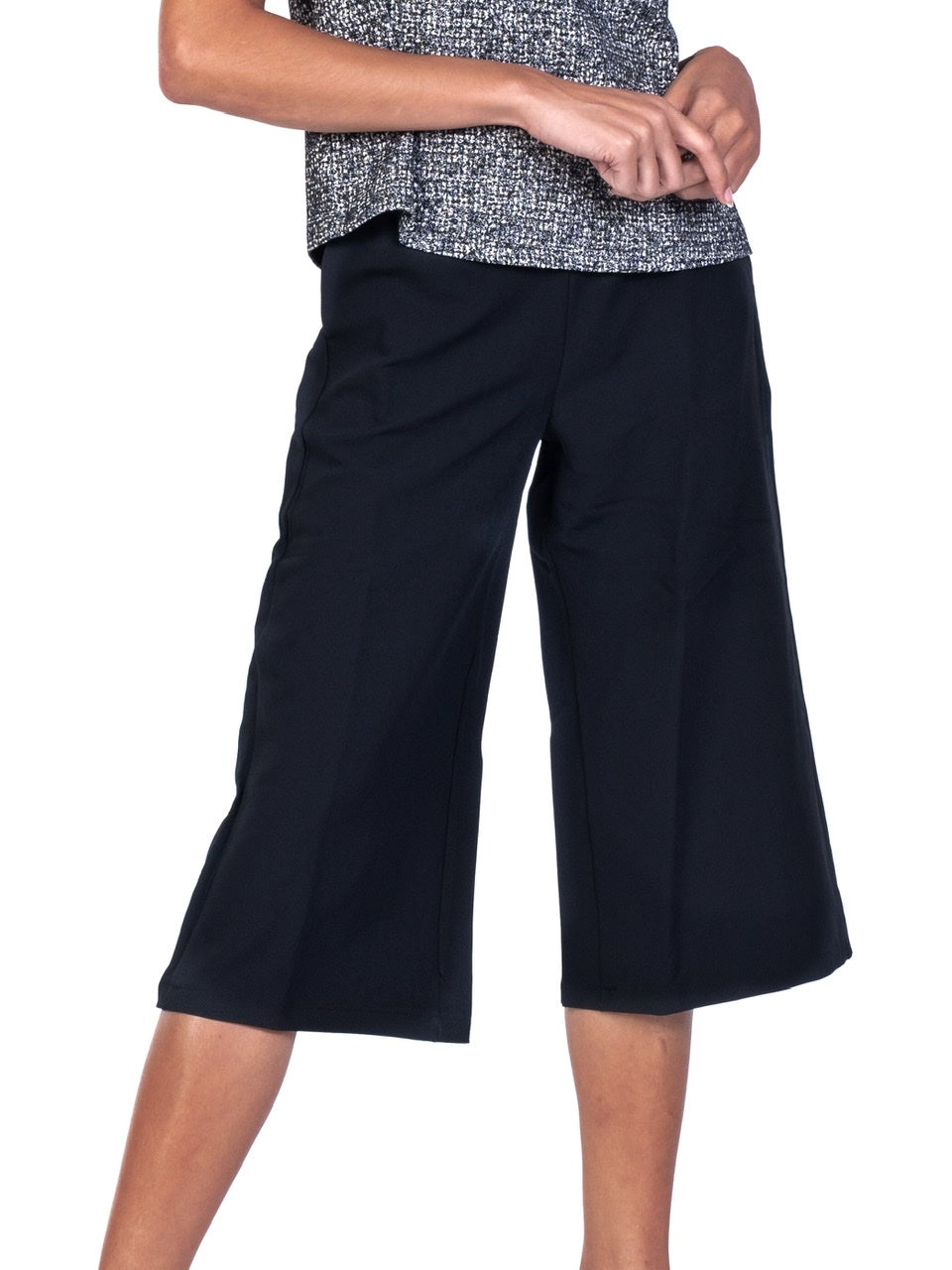 CULOTTES WITH ELASIC WAISTBAND