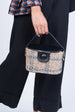TWEED PURSE-BLACK