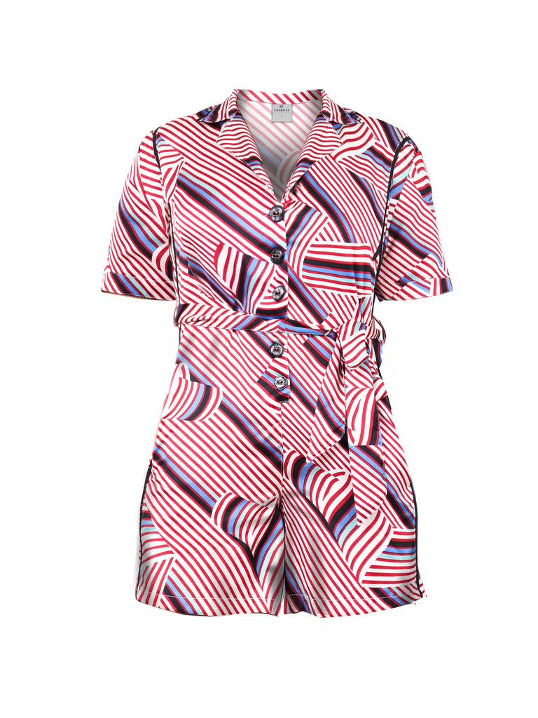 RETRO STRIPES PRINTED ROMPER (4730055327828)