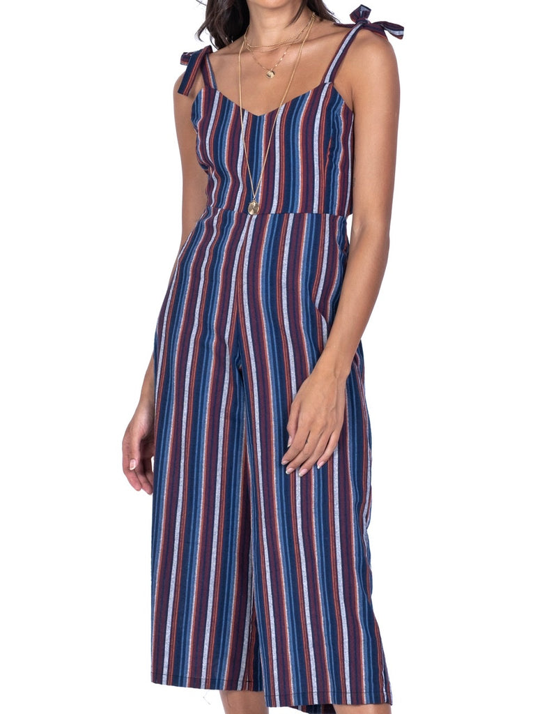 TIE-BACK STRIPE JUMPSUIT (4684306972756)