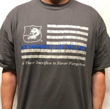 WOI Distressed Flag T-Shirt