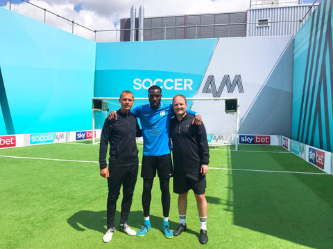 Melvin Minter Soccer AM Steve Sidwell Tubes