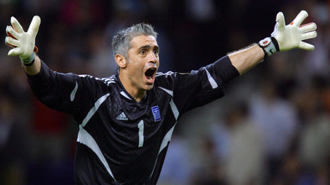Antonios Nikopolidis Greece Portugal Euro 2004