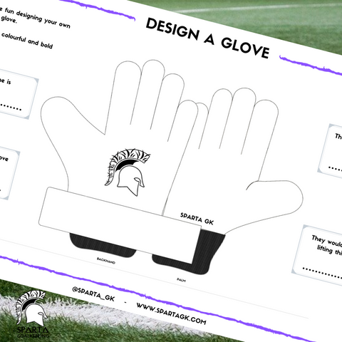 Sparta GK Glove Design Template - Free Download! - Sparta GK