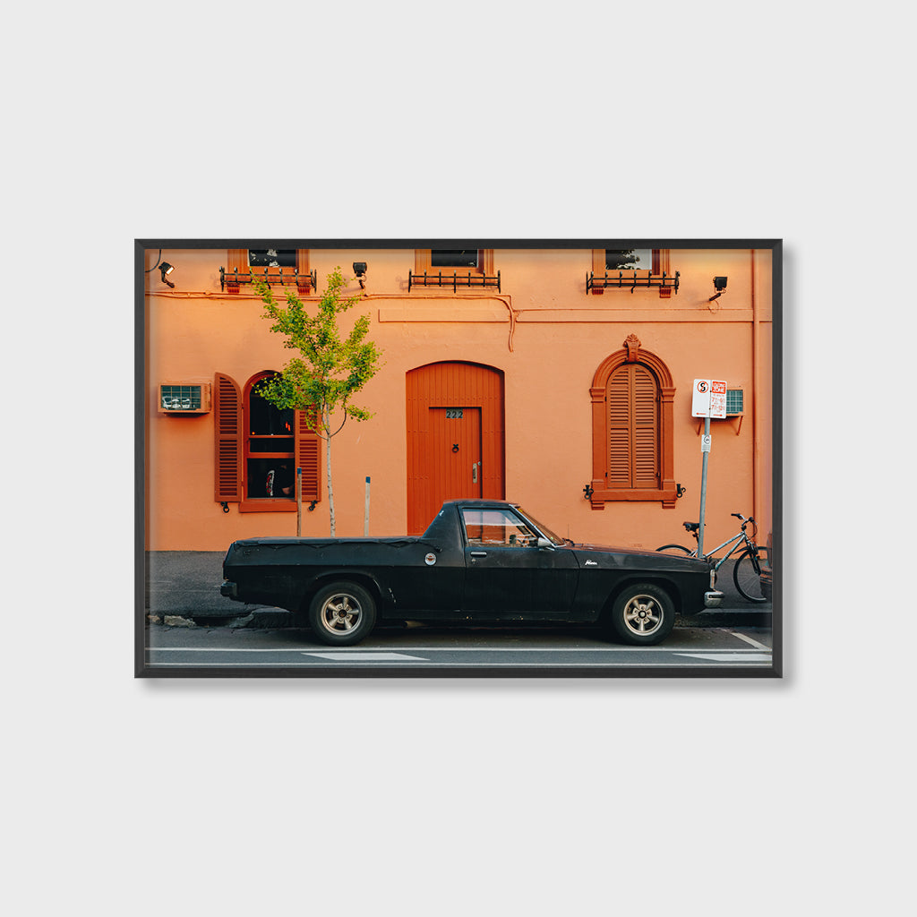 Untitled (Black Ute)