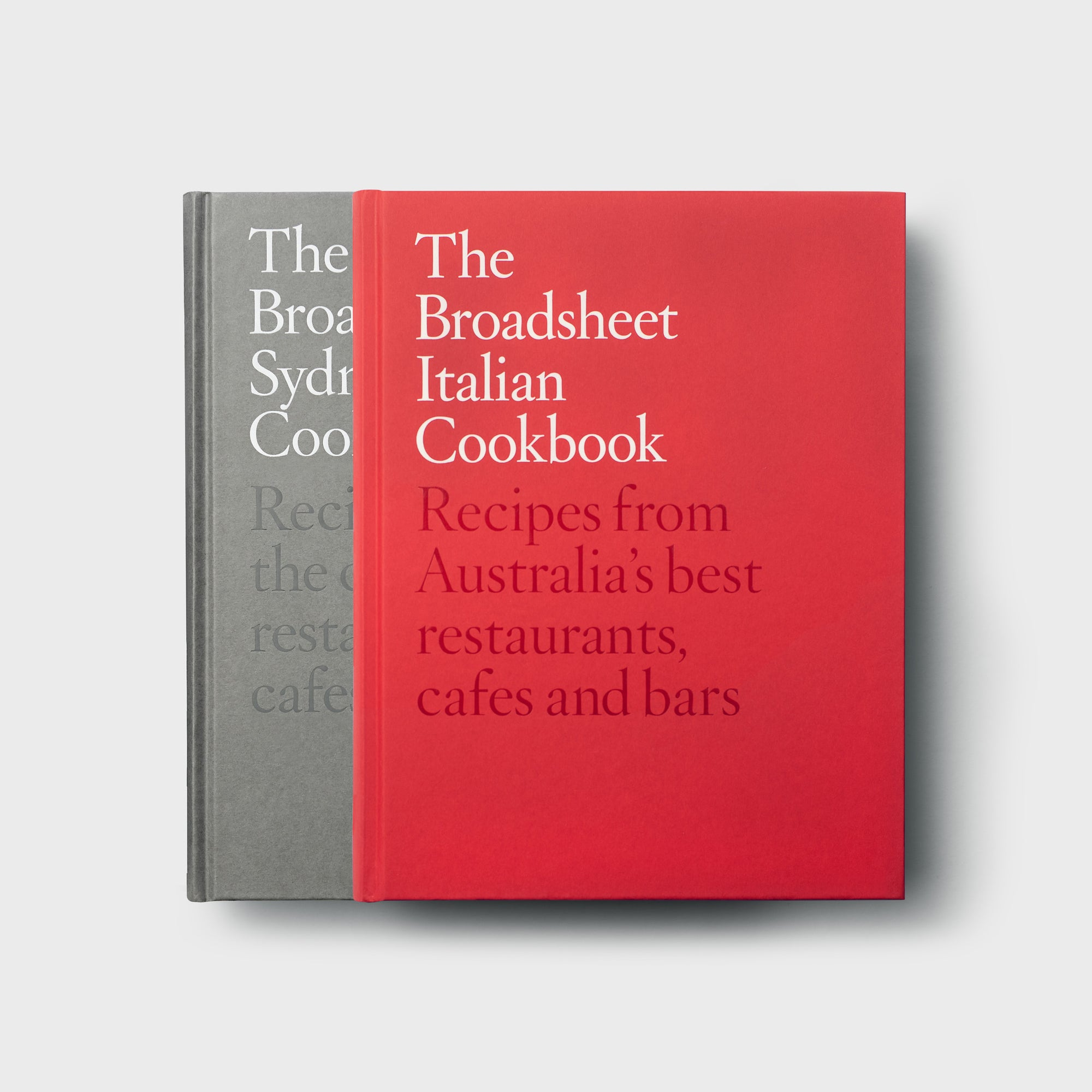 Sydney and Italian Cookbook Set