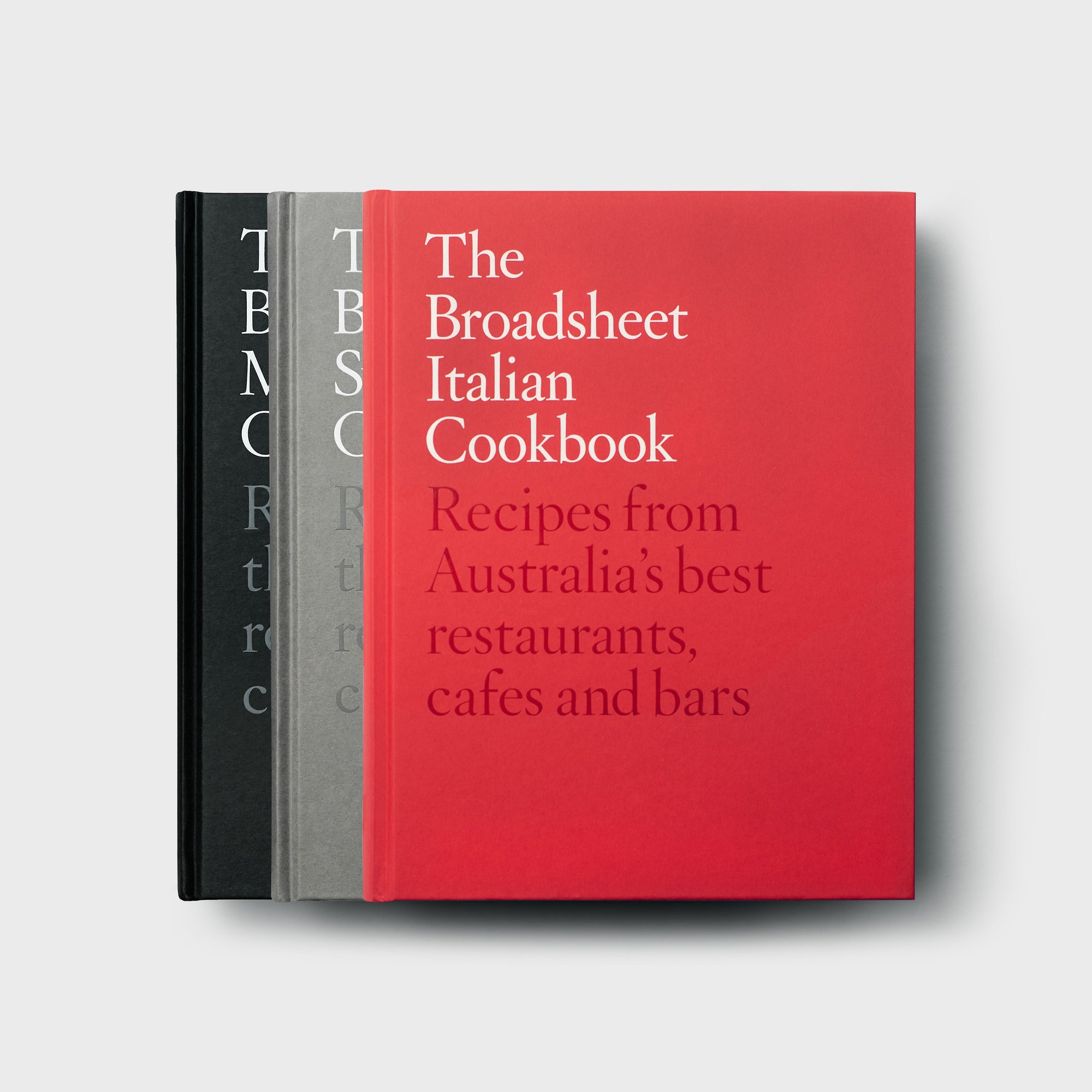 Melbourne, Sydney and Italian Cookbook Set