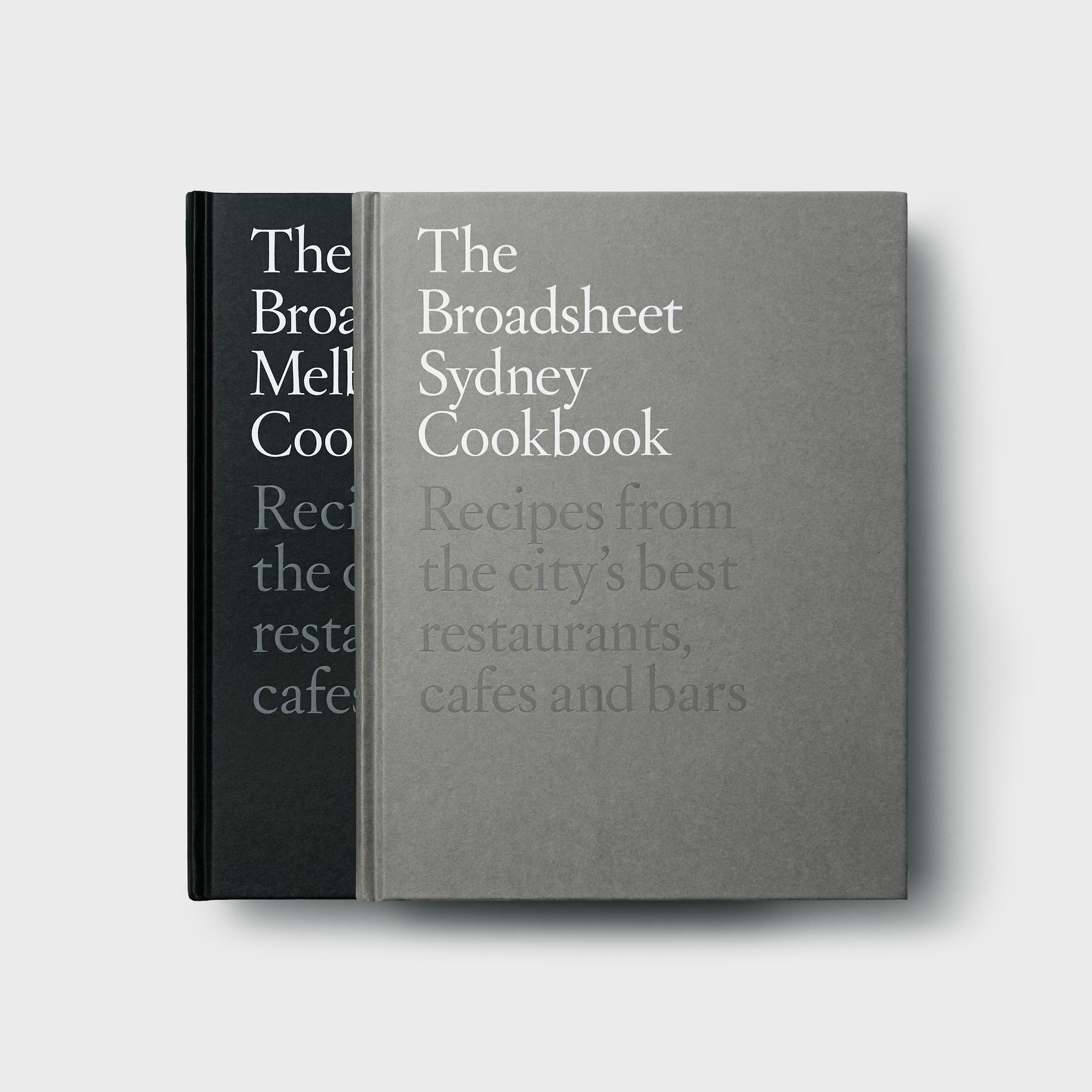 Melbourne and Sydney Cookbook Set