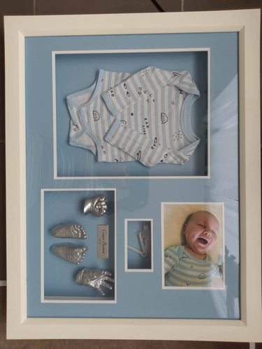 My First Outfit/ Birth Certificate Casting & Frame