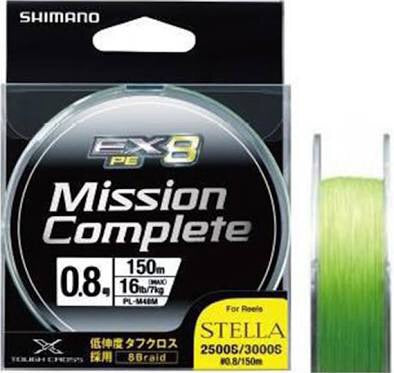 SHIMANO Mission Complete PE Braid