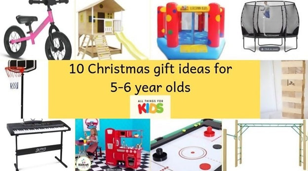 10 Best Christmas Gift Ideas for 5-6 year olds in 2019