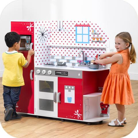 Toy Kitchens: Cooking up a storm of benefits