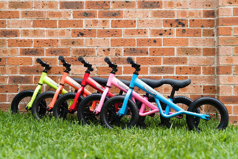 swoosh balance bikes available on afterpay and zippay buy australia
