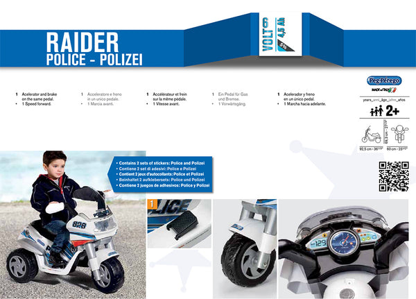 Police Raider by Peg Perego
