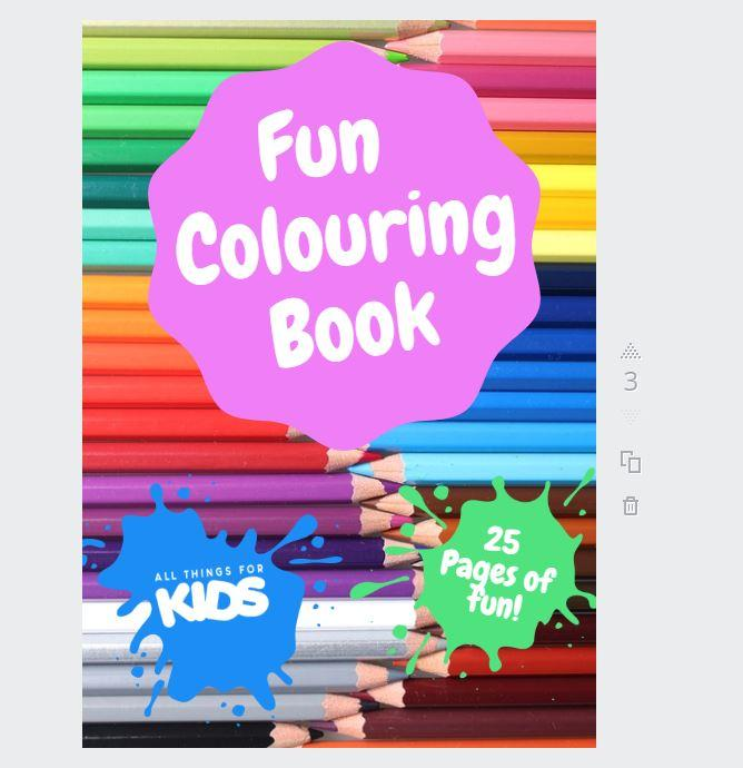 All Things For Kids Colouring Book All Things For Kids  allthingsforkids.myshopify.com afterpay zip