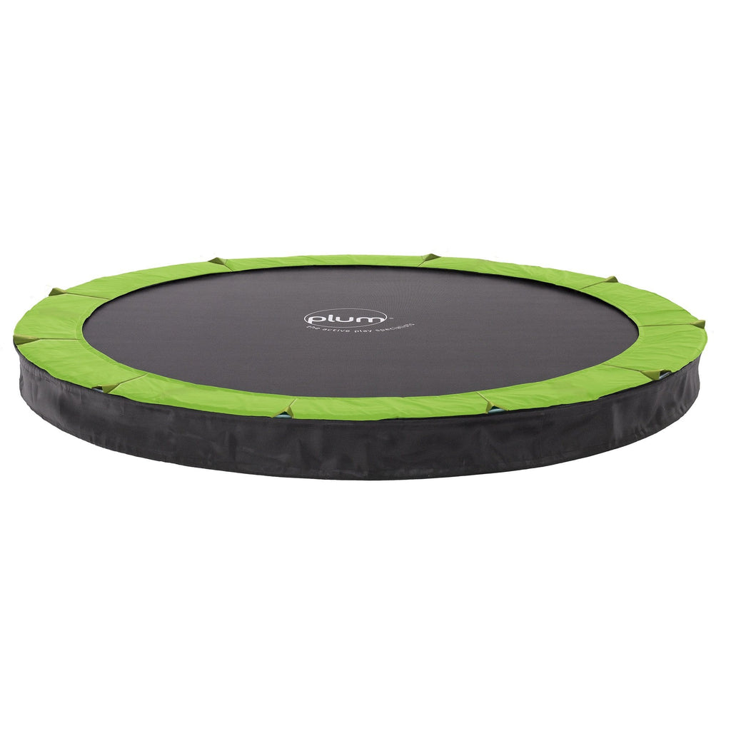 Circular In-Ground Kids 10ft Trampoline by Plum Buy Now on Afterpay All Things For Kids