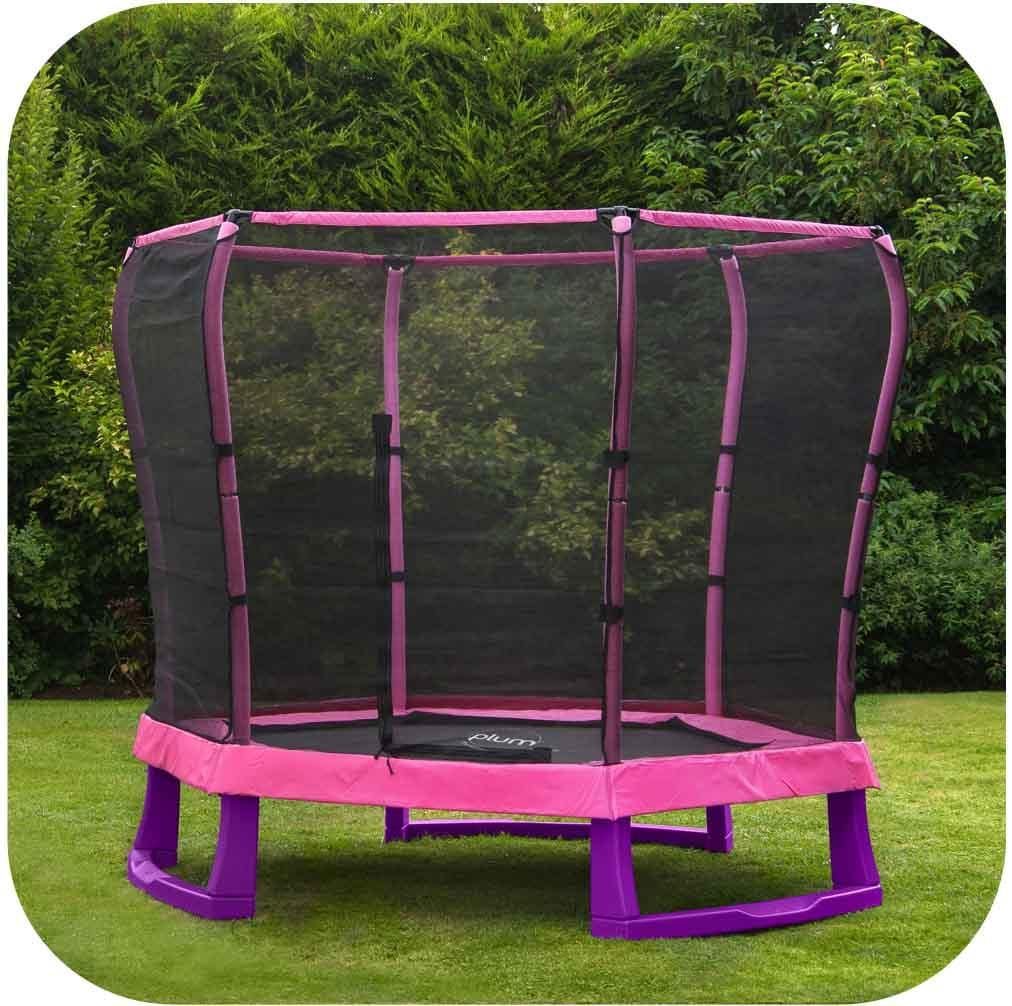 7ft Junior Jumper Pink Trampoline by Plum Buy Now on Afterpay All Things For Kids