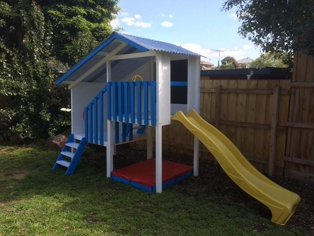 Personalised Duplex Cubby House For Sale Buy Now on Afterpay All Things For Kids