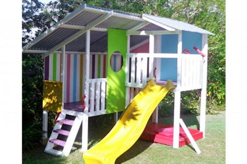 Personalised Triplex Cubby Play House For Kids Buy Now on Afterpay All Things For Kids