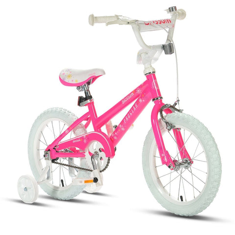 "16"" Girls On Bikes Blossom Bright Pink Buy Now on Afterpay All Things For Kids"