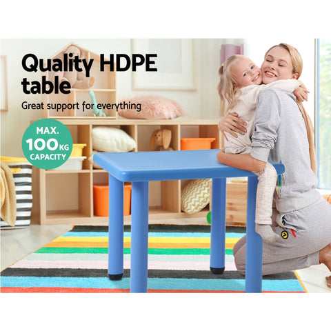 Image of Kids Play Table - Blue All Things For Kids Imaginary Play allthingsforkids.myshopify.com afterpay zip