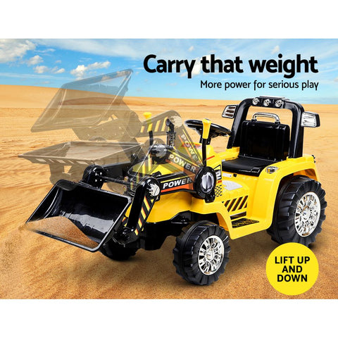 Image of Kids Ride On Toys Bulldozer Buy Now on Afterpay from All Things For Kids