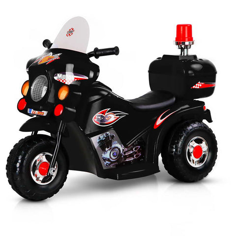 Image of kids-ride-on-motorbike-a-black AfterPay ZipPayAll Things For Kids Melbourne Sydney Adelaide Brisbane Gold Coast Online Buy Now Kids Ride on Police Motorbike Buy Now on Afterpay All Things For Kids