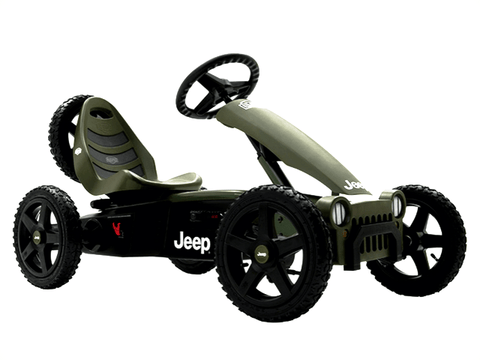 Image of Jeep Adventure Pedal Go Kart Buy Now on Afterpay All Things For Kids