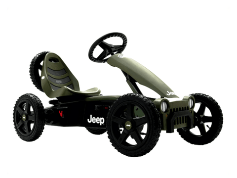 Jeep Adventure Pedal Go Kart