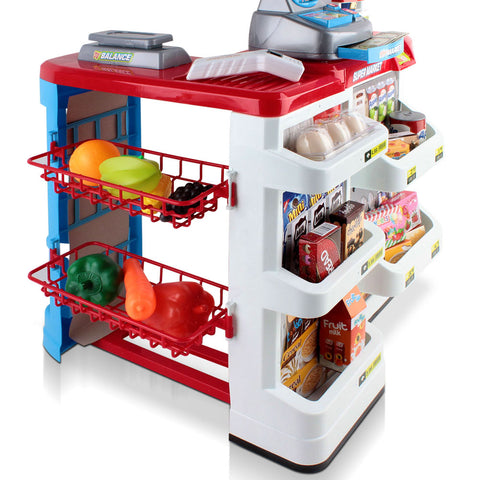 Image of supermarketandtrolleypretendplay24pieces AfterPay ZipPayAll Things For Kids Melbourne Sydney Adelaide Brisbane Gold Coast Online Buy Now